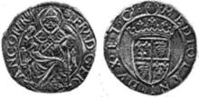 Francis I Milan testone