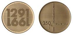 250 CHF 1991