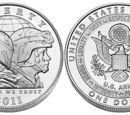 United States 1 dollar coin/Commemorative/2011-2015