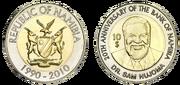 Namibia-Dollar 10 - Gedenkmuenze