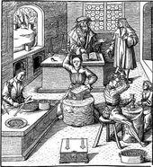 Mittelalterliche Werkstatt