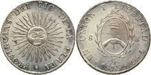 Argentina 8 reales 1813