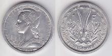 AEF 1 franc 1948