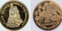 Romanian 3000 leu coin