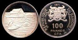 Dahomey 100 francs 1.2 1971