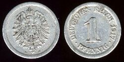 German pfennig 1917