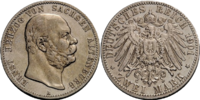 Saxe-Altenburg 2 mark coin