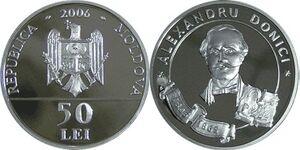 Moldova 50 lei Donici 2006