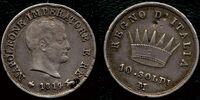 Italian 10 soldo coin (Napoleonic Kingdom of Italy)