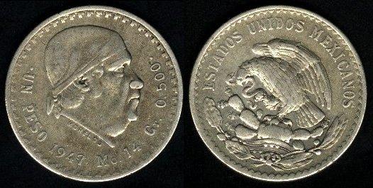 File:Mexico 1 peso 1947.jpg