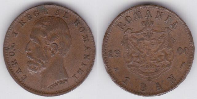 File:Romania 1 ban 1900.jpg