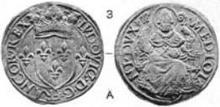 Louis XII Milan testone Ambrose