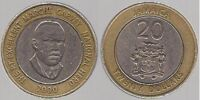 Jamaican 20 dollar coin