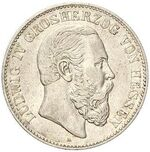 Hesse-Darmstadt Ludwig IV coin
