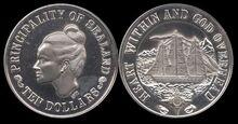 Sealand 10 dollars 1972