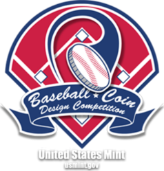 Baseball Coin Design Competition logo
