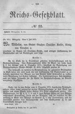 Deutsches Reichsgesetzblatt 1873 022 233