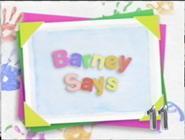 Barney Says Segment (from Season 7-15)