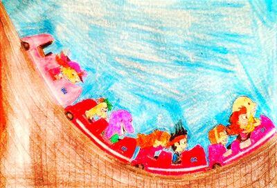 The world of matthew 12 rollercoaster ride by bestbarneyfan-d64d3qi