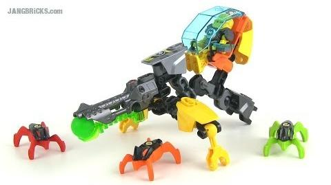 LEGO Hero Factory 44015 Evo Walker (Invasion from Below) set review!