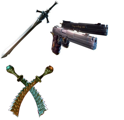 File:Dante's Weapons.png