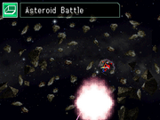Diorama - Asteroid Battle