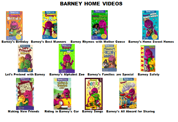 Image barney home video classics blooket 2000 page 1 for House music classics 2000