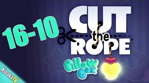 Cut The Rope 16-10 Pillow Box Walkthrough (3 Stars)
