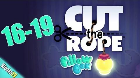 Cut The Rope 16-19 Pillow Box Walkthrough (3 Stars)