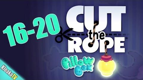 Cut The Rope 16-20 Pillow Box Walkthrough (3 Stars)