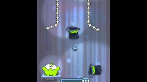 Cut the Rope 4-19 Walkthrough Magic Box