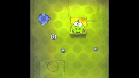 Cut the Rope 2-16 Walkthrough Fabric Box