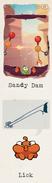 Lick sandy dam