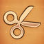 Achievement bronze scissors