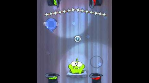 Cut the Rope 4-17 Walkthrough Magic Box