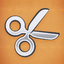 Achievement silver scissors
