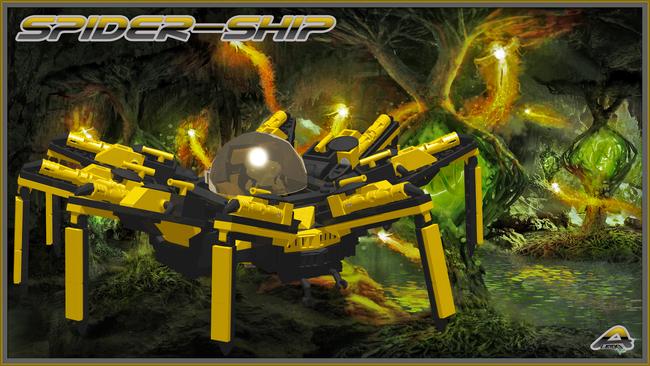 Spider ship 3