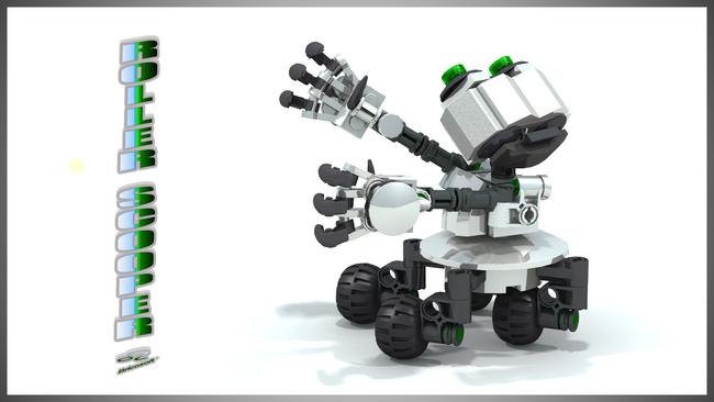 ROLLER-SCOOPER V2 16-9
