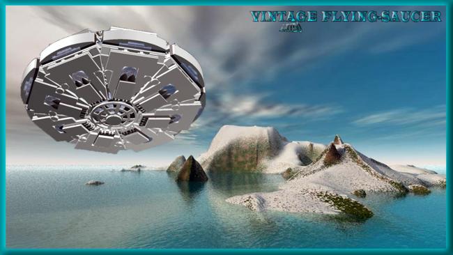 Vintage flying saucer 2
