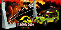 Jurassic Park Jungle Explorer with T-Rex