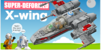 Super Deformed (SD) X-Wing Starfighter
