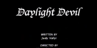 Daylight Devil