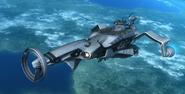 Dolphin 3 high above Earth