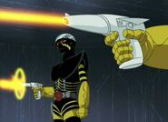Super Gun in Kikaider