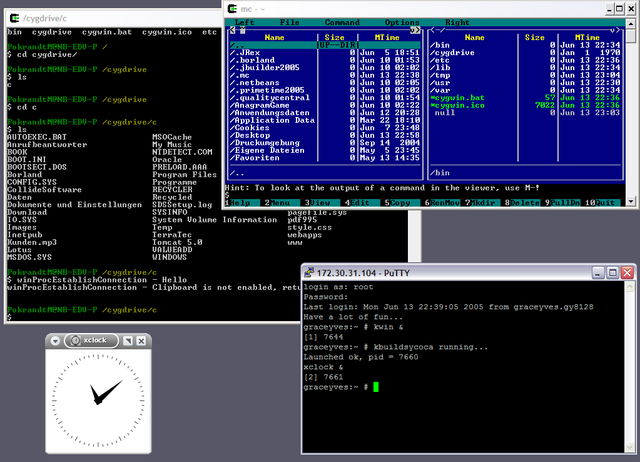 File:Cygwin X11 rootless WinXP.png