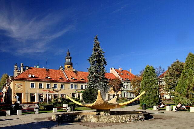 File:Rynek w Wodzisławiu Śląskim.jpg