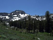 Eldorado NF - trail to Winnemucca Lake