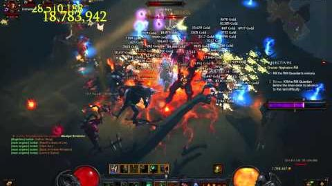 Level 36 Greater Rift Clear Mojofabulous Barbarian Fire Leap Quake Unity YAYU 8 28 14