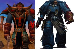 Space marines vs World of Warcraft