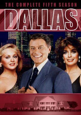 Dallas (1978) Season 5 DVD cover